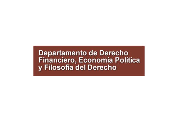 Departamento de Derecho Financiero, Economía Política y Filosofía del Derecho